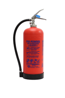Self Service Powder Fire Extinguisher
