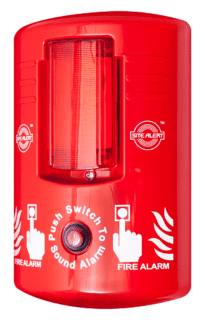 Site Alert battery operated site fire alarm